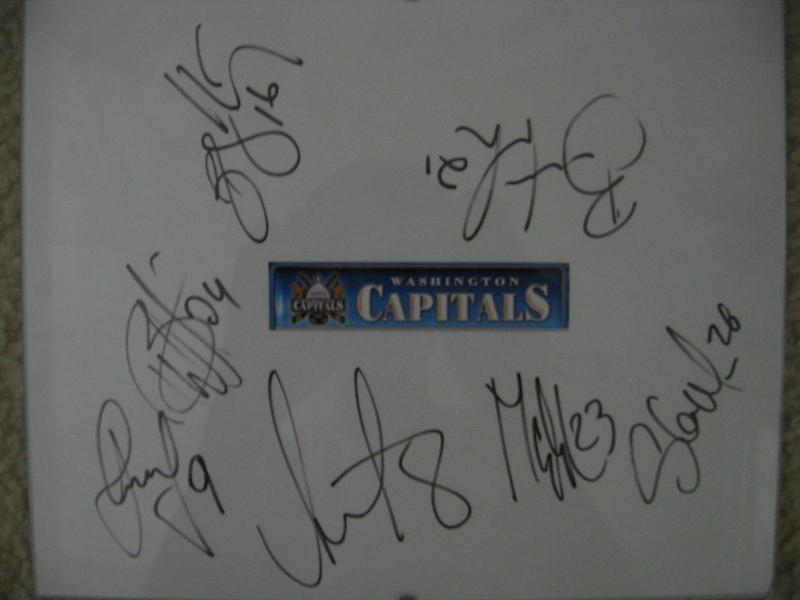 My Caps Autographs