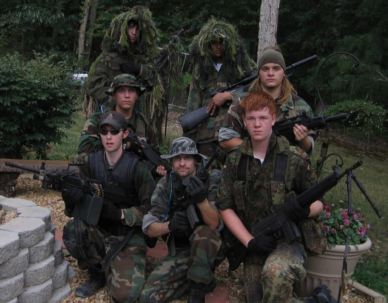 My airsoft team