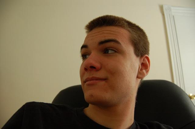 Eeee. No pimples!