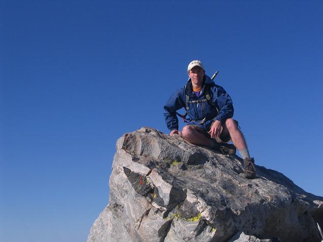 I like to climb 12,804 ft mountains