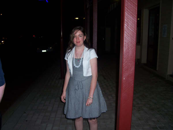 omg me in a dress bwhaha!