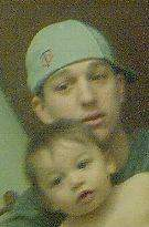 A picture of me and my son Matthew he will be 2 in Feb