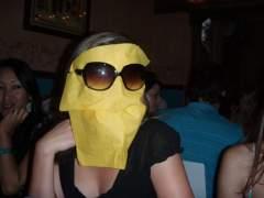 napkin head!!