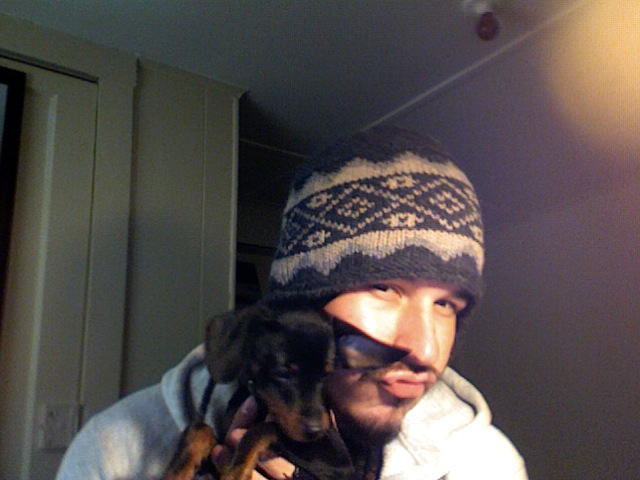 me and the dog