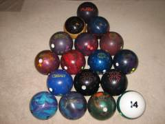 My PBA Bowling Arsenal