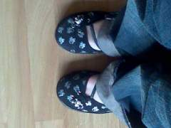 My New shoes - they make me tres happy!