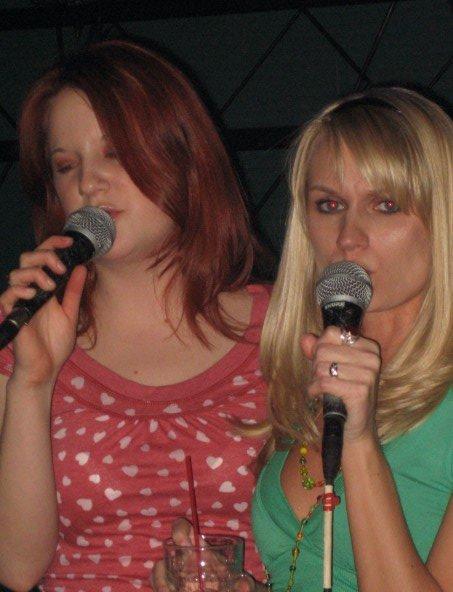 Karaoke - my favorite pasttime!