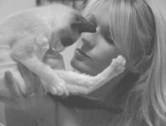 My kitten! I miss her...BF and I on a little break...he