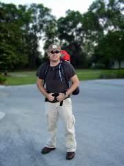 Me Hiking the Suwanee River in FL