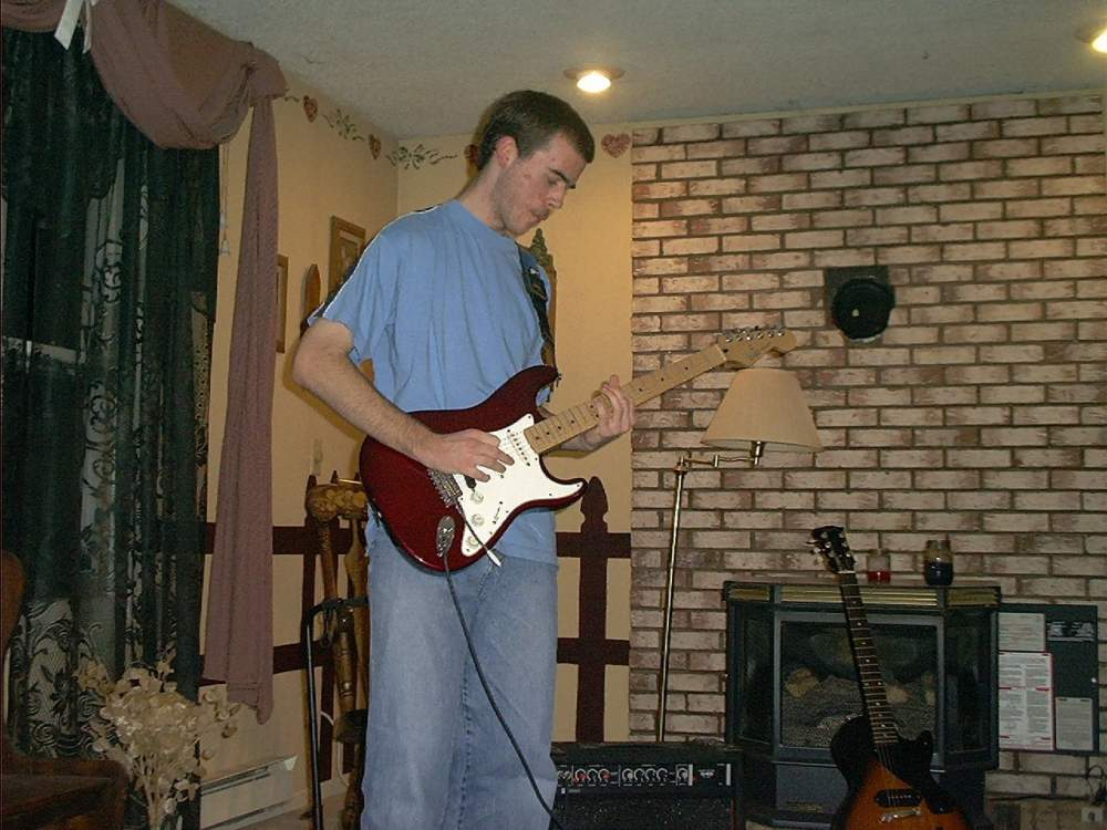 Me playing guitar