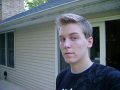 Me on the back porch :P