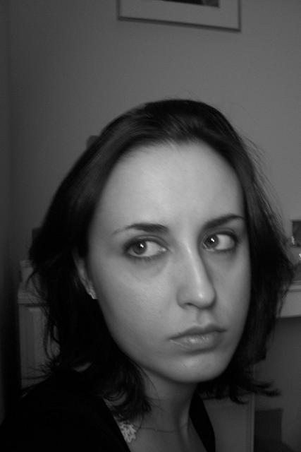 My face...