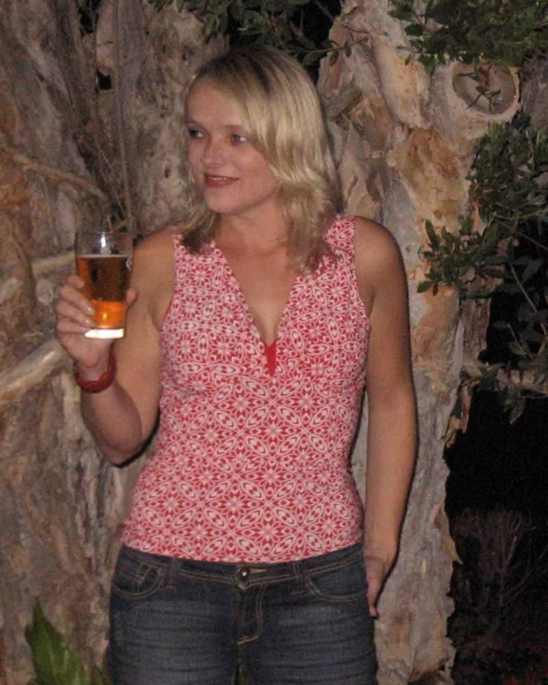 Me at 2007 Work Xmas Party