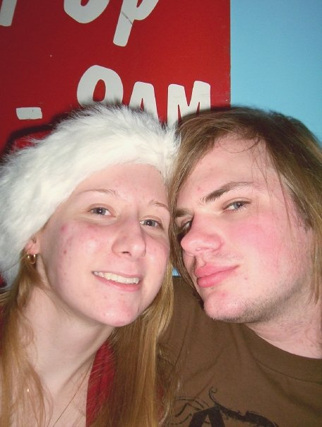 my boyfriend and I christmas '07