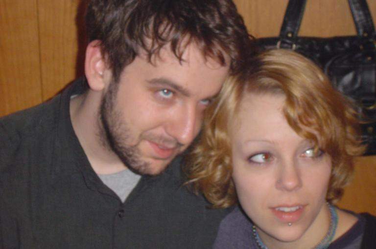 The Boyfriend and I, shortly after we started dating. (2006)