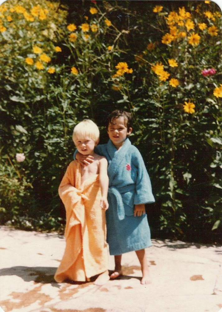 06 - Me, 5 Years Old at La Cumbrecita with my Friend Peter