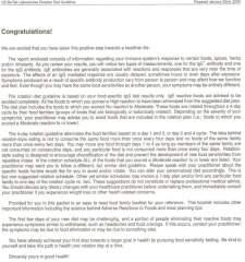 IgG test letter