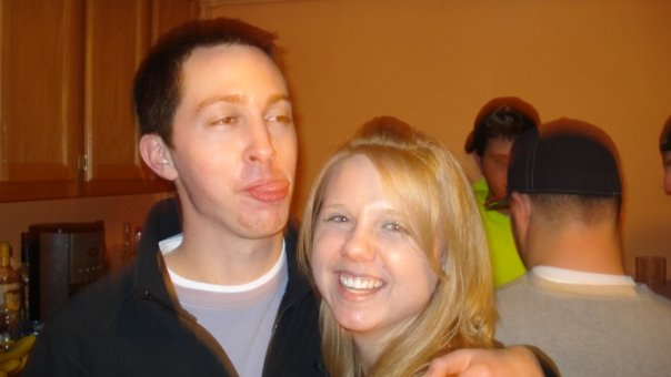 Feb. 2009- lookin good and lookin intoxicated.  One month la