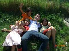 In Romania helping orphans