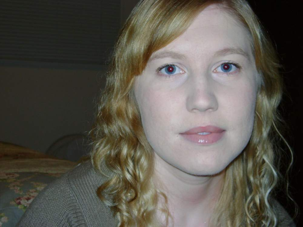 Me with lazy day makeup (Mar '10)...