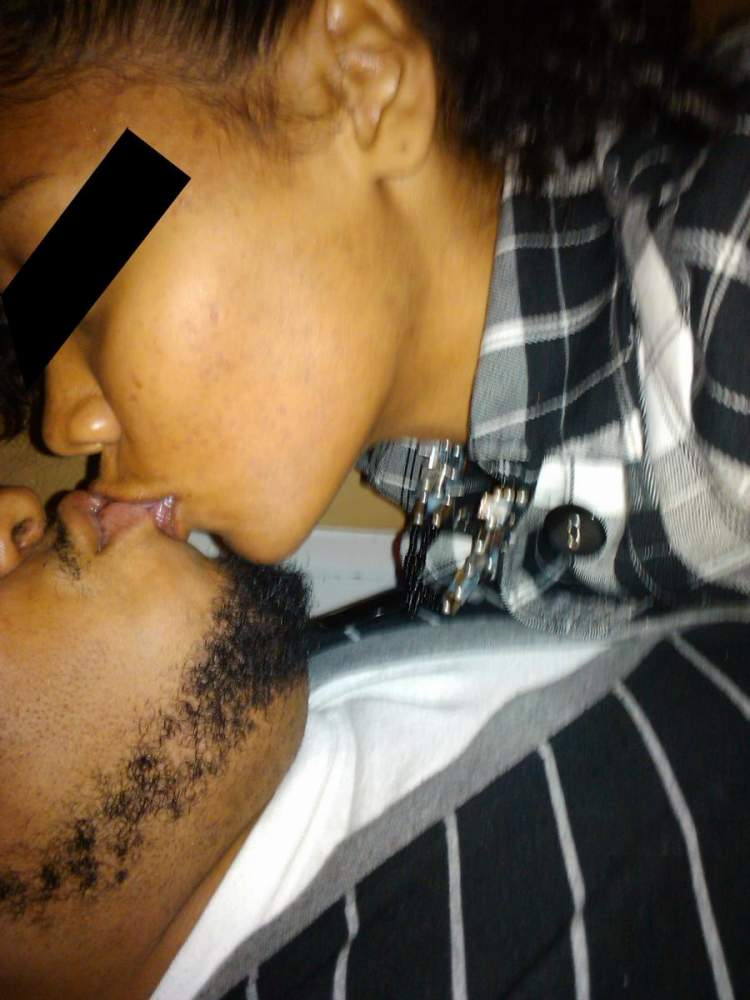 Me and my boyfriend September 2010. month 3 of tetracycline