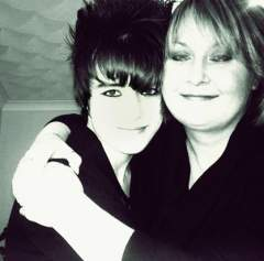 me and my mum :D