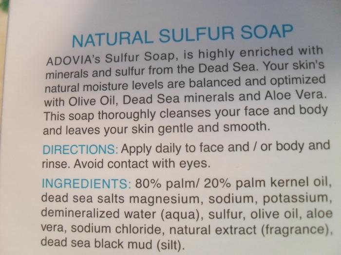 Washing with / ingredients