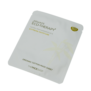 TheFaceShop: Arsainte Eco-Therapy extreme moisture cotton face mask