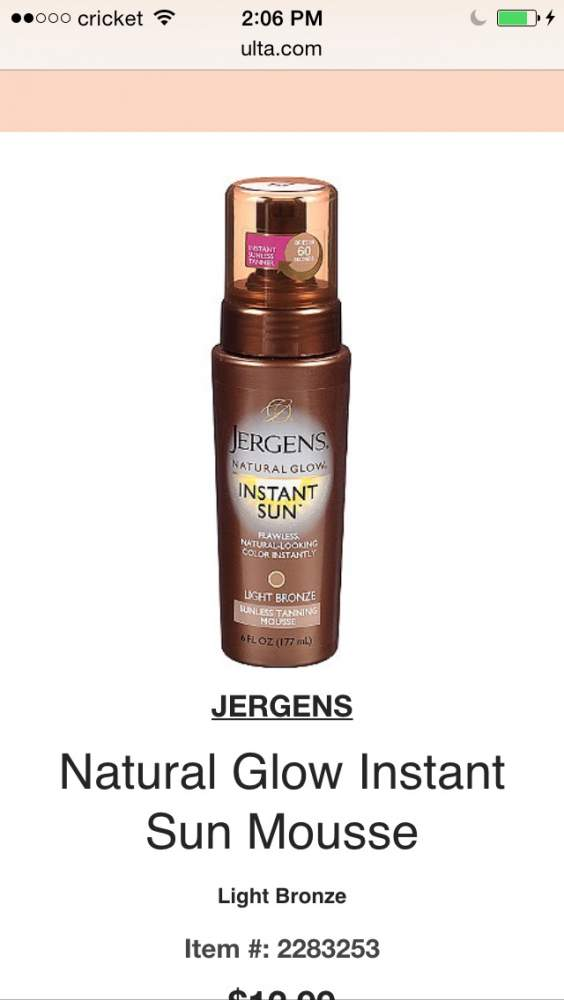Best product for pale Accutane skin tone