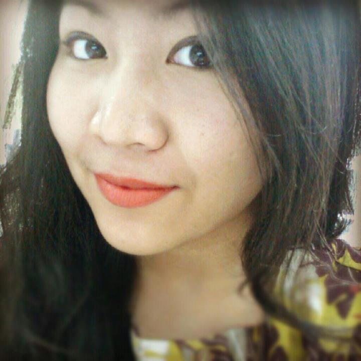 Orange lippy with clear skin :)