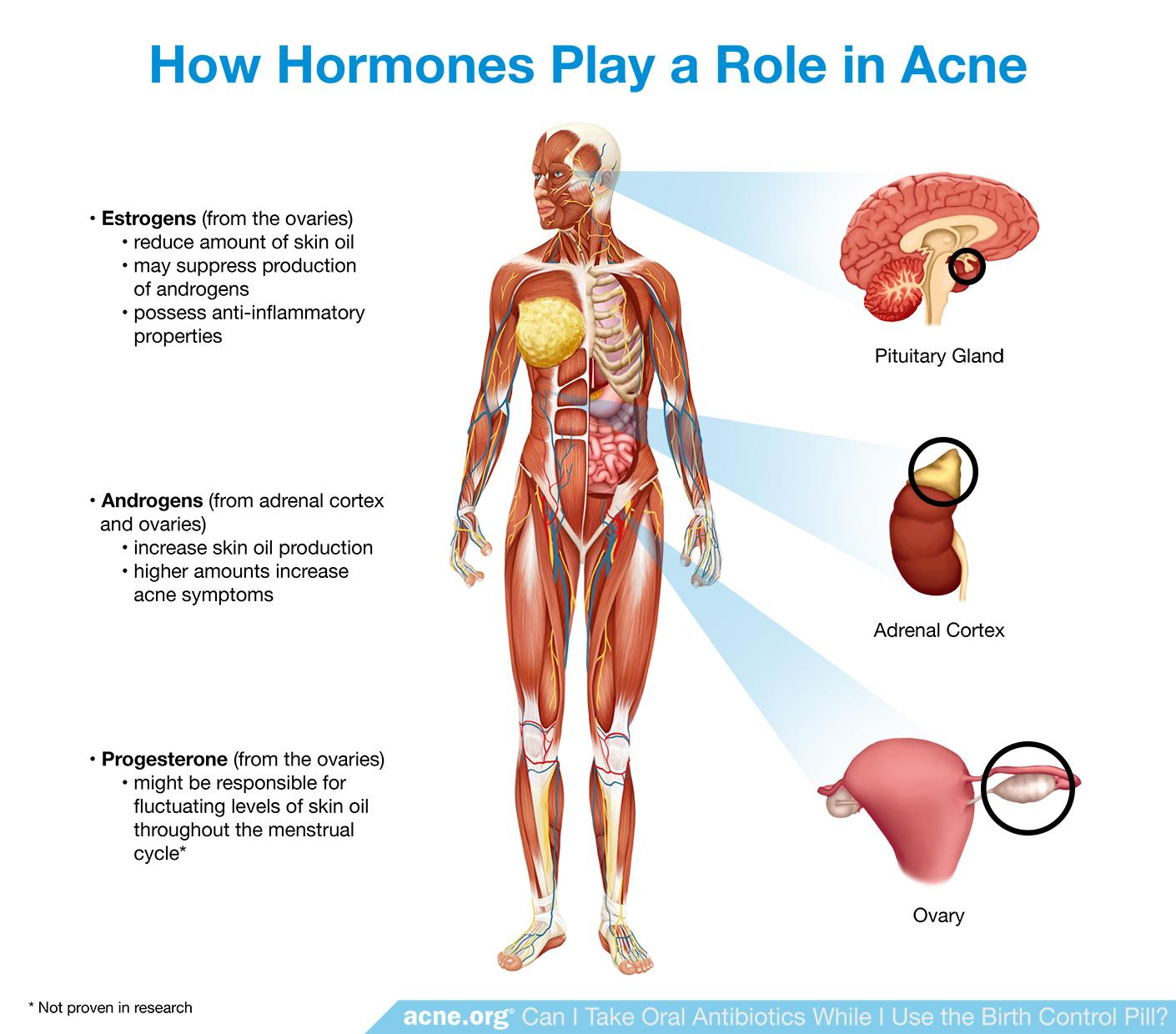 How Hormones Play a Role in Acne