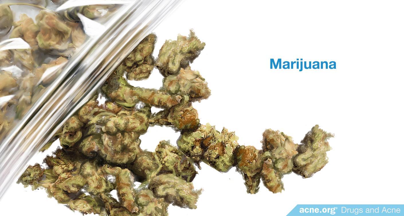 Does marijuana cause acne