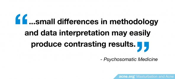 Small differences in methodology and interpretation produce contrasting results