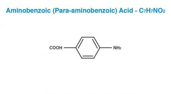 Aminobenzoic (Para-aminobenzoic) Acid (PABA)