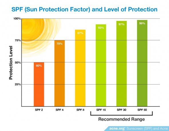 SPF (Sun Protection Factor) and Level of Protection
