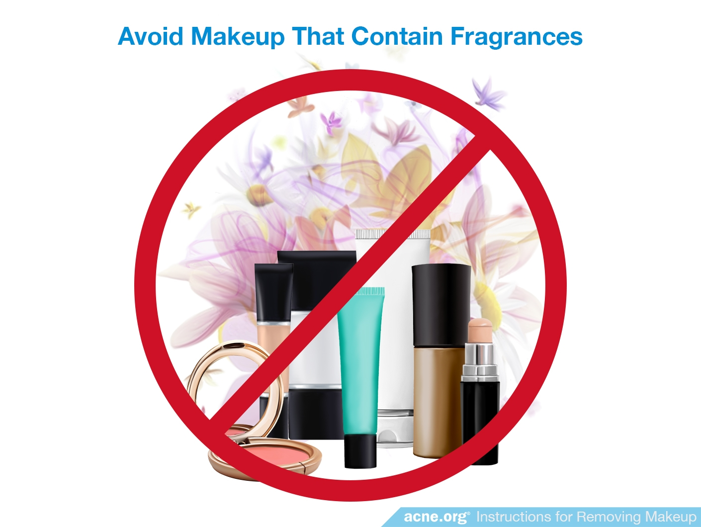 Avoid Makeup Containing Fragrance