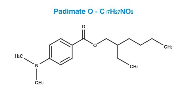 Padimate-O Molecule