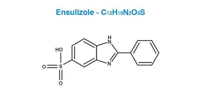 Ensulizole Molecule