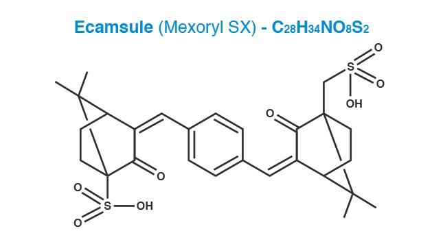 Ecamsule Molecule