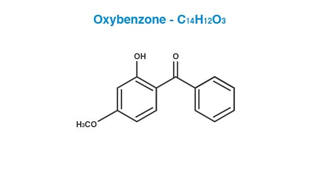 Oxybenzone Molecule
