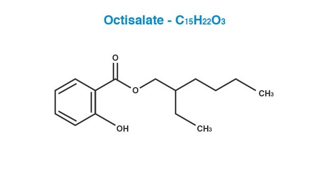 Octisalate Molecule