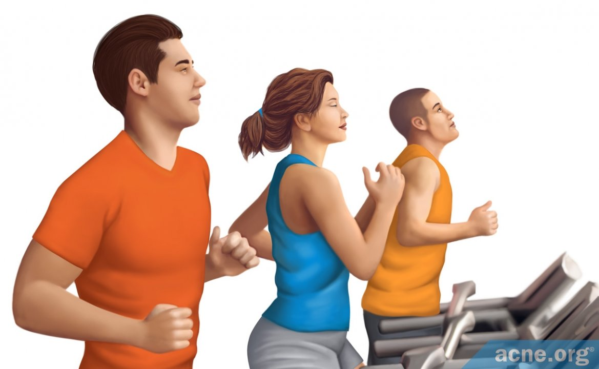 How Exercise Might Help with Acne