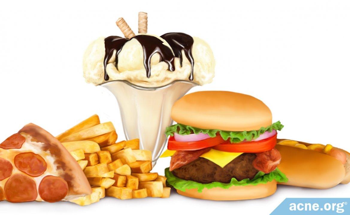 How Fatty Foods Affect Acne