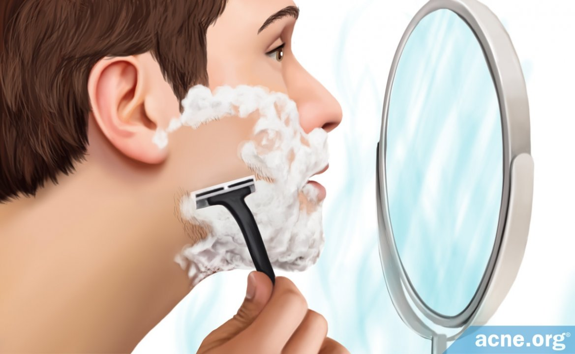 Shaving for Acne-Prone People
