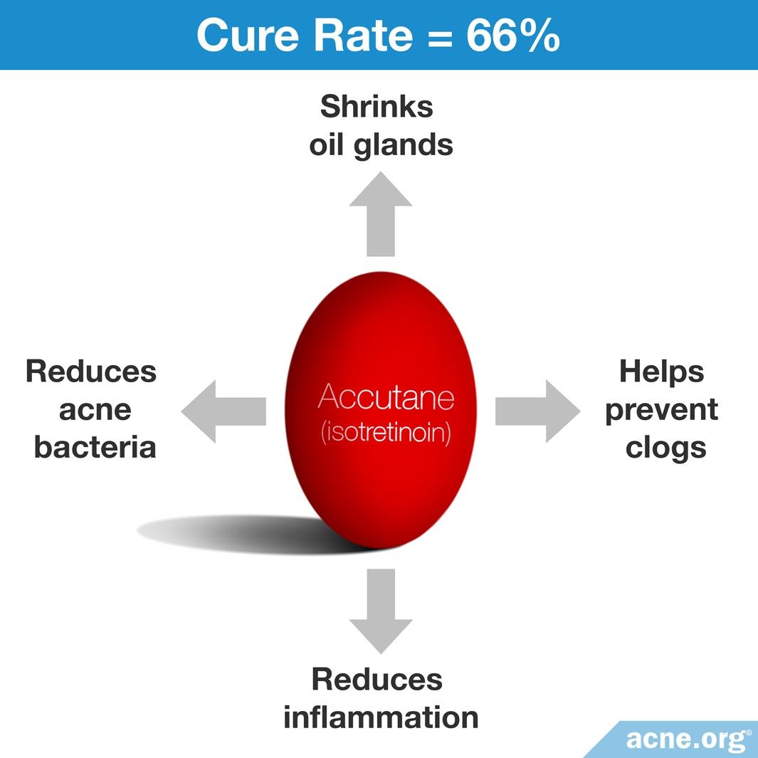 How Accutane (isotretinoin) Works