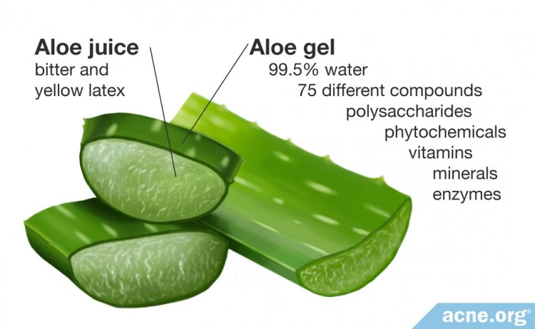 Components of Aloe