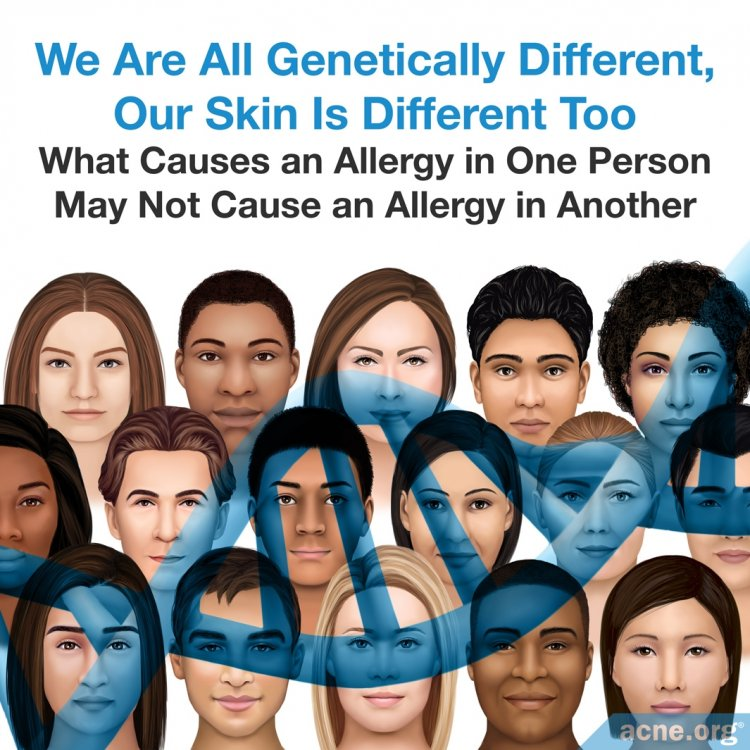 We Are All Genetically Different, Our Skin Is Different Too