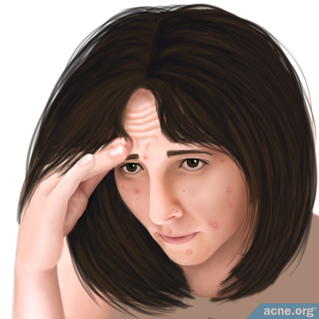 Woman Experiencing Stress