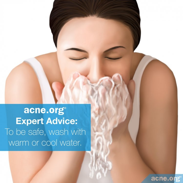 Acne.org Expert Advice: Wash Your Face with Warm or Cool Water