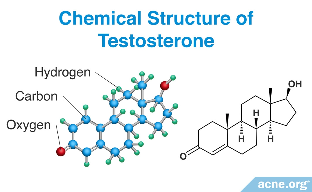 Chemical Structure of Testosterone